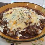 レストラン mumu - カレーハンバーグドリア