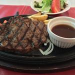 レストラン mumu - リブロースステーキ150g