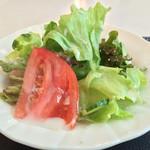 レストラン mumu - セットのサラダ
