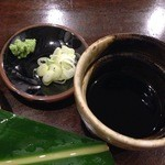 42671796 - 蕎麦つゆ・刻みネギ・山葵