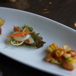 山の上の洋食屋 はなわ - 料理写真:前菜三種盛り