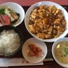 幸蘭 - 料理写真:麻婆豆腐定食