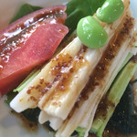 幸蘭 - 胡瓜と長芋のサラダ