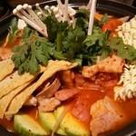 韓国居酒屋&韓国料理 古家 - プデチゲ