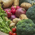 ムロマチカフェハチ - 産地直送の新鮮野菜☆季節で種類は変わります☆