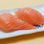 魚心 - サーモン 垂れにぎり