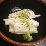 焼鳥日高 - 長芋の千切り