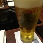 京都 瓢喜 - ビール