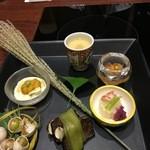 京都 瓢喜 - 綺麗に盛り付けて頂きました!