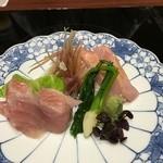 京都 瓢喜 - 金目鯛 二種盛り