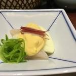 京都 瓢喜 - りんごと帆立黄味酢掛け
