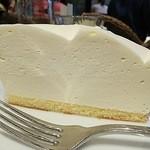 ハーブス ルミネ池袋店 - レアチーズケーキ  厚い