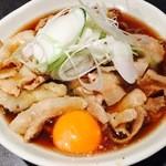 肉そば両国 - 肉玉そば・うどん ¥550