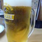 つかさ屋 - やっぱ冷えたビールは旨し デス