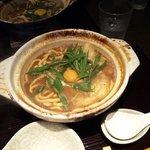 岡崎 二橋 - 味噌煮込みうどん 親子(¥930)
