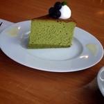 42682911 - 抹茶チーズケーキ