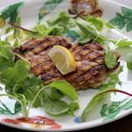 ジョウハナーレ - 料理写真:鶏もも肉のディアボラ風(悪魔風)