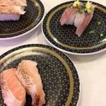 はま寿司 - 焼きサーモンとサンマ
