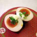 はま寿司 - 煮卵軍艦