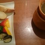 野菜ダイニング 菜宴 - バーニャカウダ
