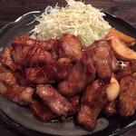 42687618 - 2015.10.3 「新」流トンテキ定食・1ポンド 1300円 450g(税込)                       ご飯(おかわりOK)・スープ付き