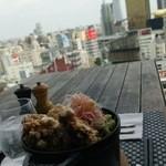 42689741 - 『STAUB仕立てのお好み丼』とスカイツリー