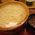 鶴丸製麺 - 釜揚げうどん(大)(@380円)