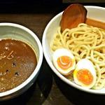42690128 - 【デスカレーつけ麺 + 味玉】¥850 + ¥100