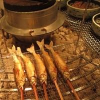 黒部観光ホテル-アユがカリカリに美味しく焼かれていました。