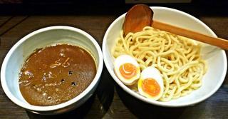 ラーメン純風殿 堺東本店 - 【デスカレーつけ麺 + 味玉】¥850 + ¥100