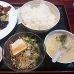 龍記 - サラダ・スープ・ライス
