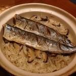 富ちゃん - さんまの土鍋ごはん