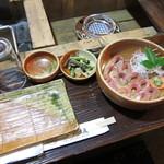 一ノ坂 - マスの洗い