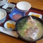 ニュー畠兼 - 真鯛の旨みだけで頂ける「ざっぱ汁定食 (1500円)」