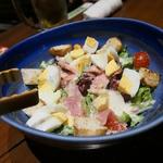 千年の宴 - カフェ風シーザーサラダ