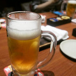 千年の宴 - 生ビール