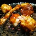焼肉 藤良 - 混合ホルモン680円