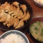 鉄なべ - 餃子定食