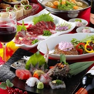 おすすめ!飲放120分付食べログクーポンコース2700円