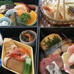 しげよし - 料理写真:野点(のだて)御膳 3,950円(税別)