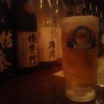 ドラゴン厨房 - ビールは麒麟