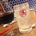42697988 - 赤ワイングラス500円