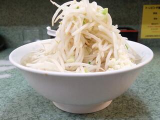 ラーメン二郎 小滝橋通り店 - 小ラーメン+野菜ニンニク
