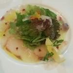 BABBO - 鮮魚のカルパッチョ。