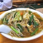 赤道食堂 - 肉ニララーメン