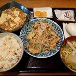 Okinawadainingunagomi - ふーちゃんぷる定食(800円)