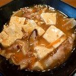 Okinawadainingunagomi - 豆腐と豚のピリ辛から炒め