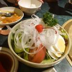 煉瓦屋 - 野菜サラダ480円