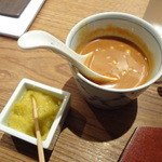 とり田 - ソース、柚子胡椒