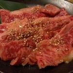 炭火焼肉酒家 牛角 錦糸町テルミナ店 - 黒毛和牛カルビ(790円)